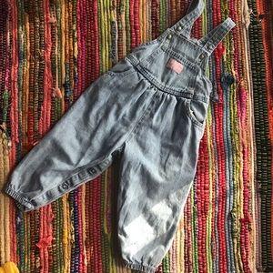 Vintage Oshkosh overalls denim 12M